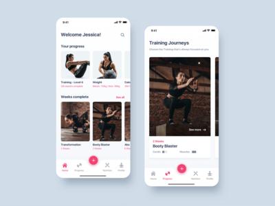 Training Fitness App