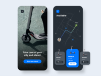 Scooter Rental App Concept