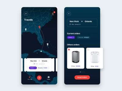 Travel App - Concept UI Design