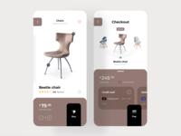 eCommerce Furniture App Concept