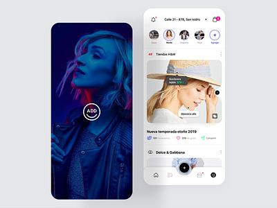 Add Shop App Design minialista home app ui  ux interaction minimalist ui ios app design ux design ui design