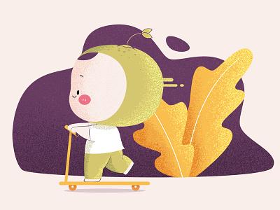 BabyOrange illustrations