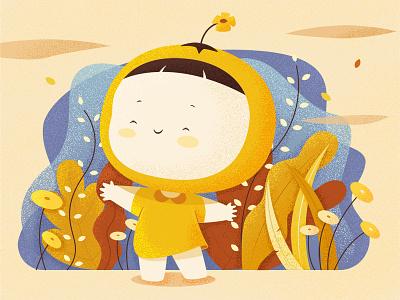 BabyOrange illustration