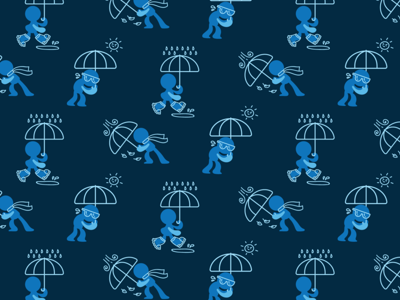 Umbrella Pattern design umbrella pattern