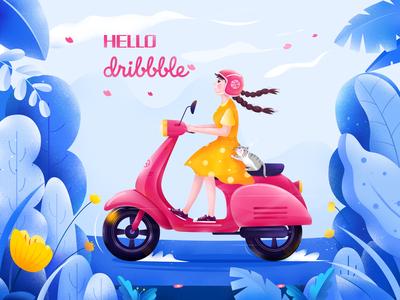 Hello~ Dribbble