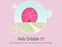 Hello Dribbble !!!!
