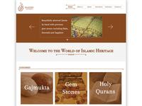 antique website design