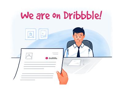 Namaste Dribbble! hiring olx aasaanjobs recruitment india bengaluru vector design illustration jobs