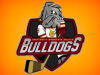 UMD Hockey Logo 2