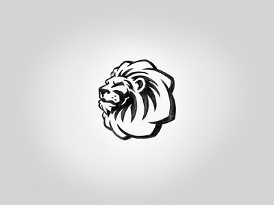 Lion - WIP predator animal cat logo mask face leo king wip lion