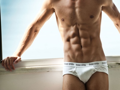 BAM BUM Underwear Branding View - WIP
