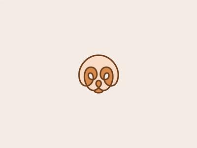 PUPPY/DOG Logo Design love fun cute modern simple buy logo design logo mark shelter sale dog logo dog puppy