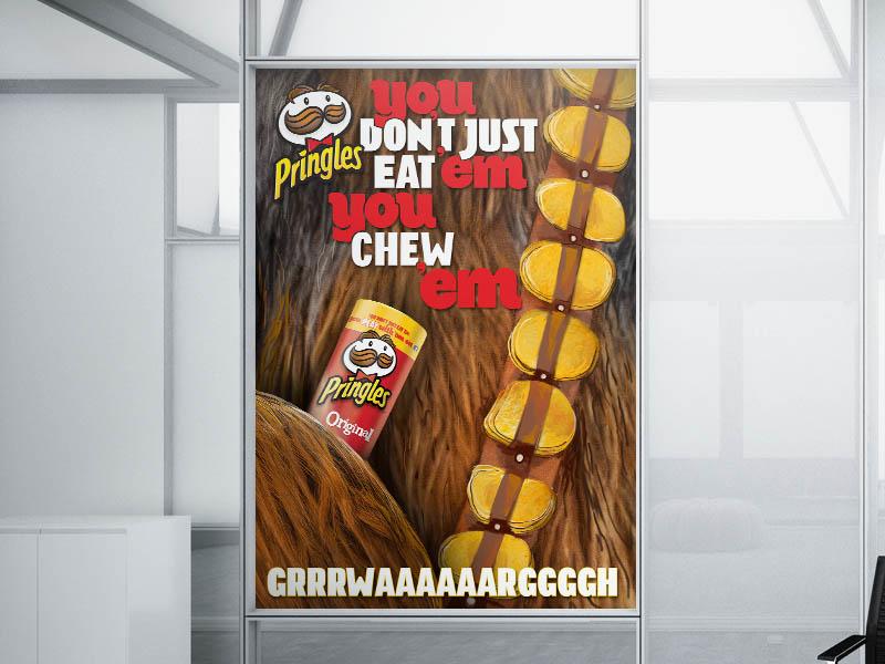Pringles You Dont Just Eat Em You Chewbakaem By