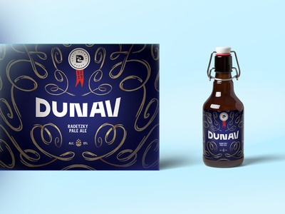 DUNAV - RADETZKY PALE ALE - LABEL DESIGN WIP