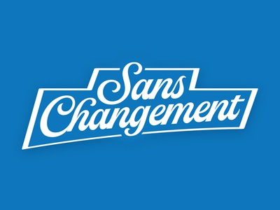 Sans Changement - INDIA PALE LAGER - LABEL WIP