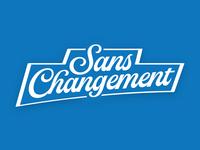 Sans Changement - INDIA PALE LAGER - LABEL WIP