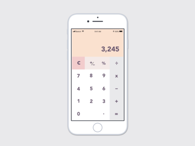 Daily UI Challenge - Calculator