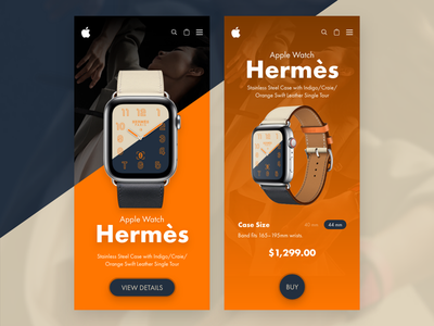 Daily UI design✍🏻 2018 watch product inspiration czech graphicdesigner webdesigner designer graphic clean ux ui appdesign design