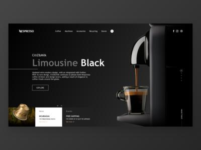 Coffee landing page☕️✍🏻