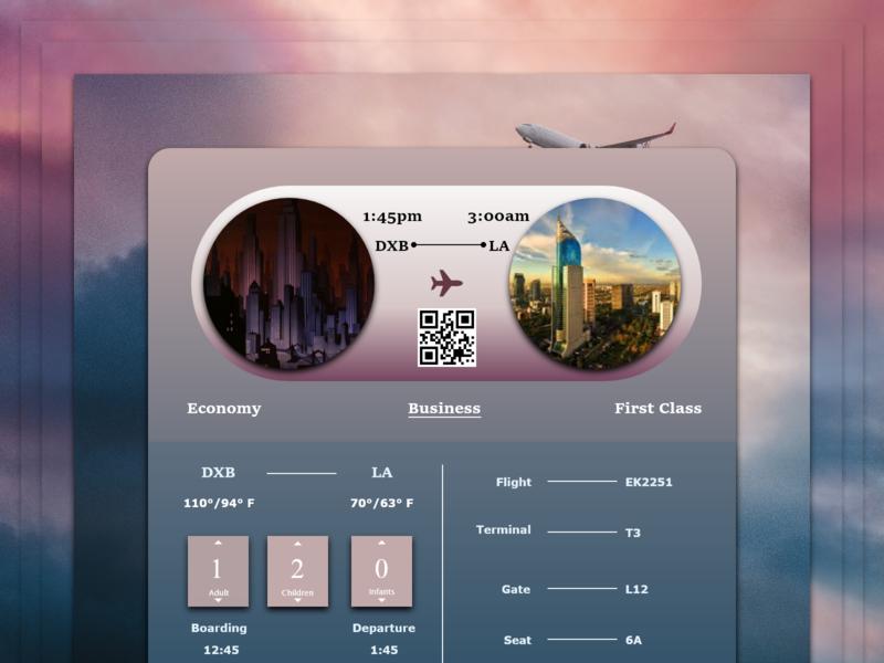 Daily UI - Booking booking dailyui design web ux ui digital