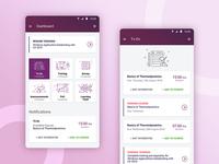 App Dashboard Design