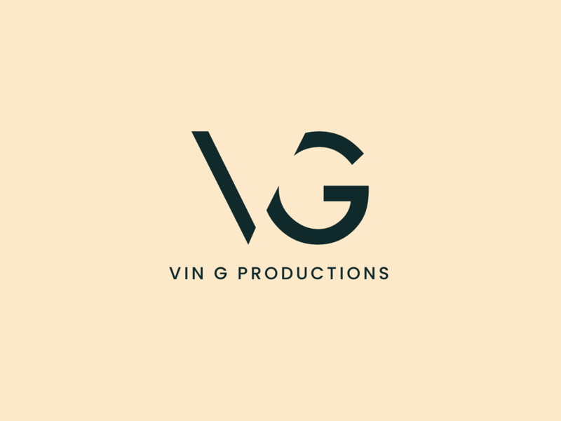 VG Logo Design graphic design logo negative spacing