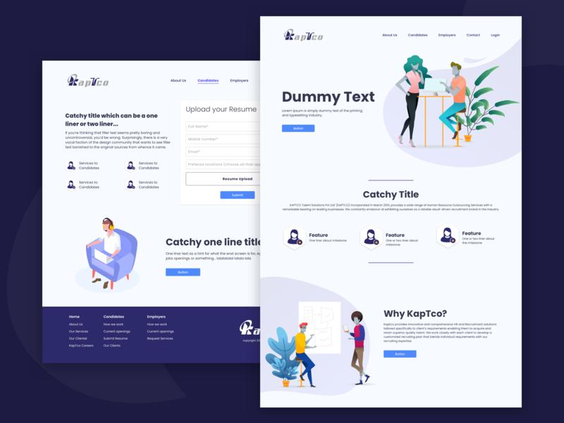 Webpage design web page landing page web desing illustration graphic design