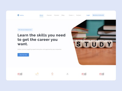Students Landing page