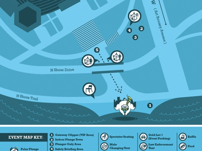 Pittsburgh Polar Plunge Map