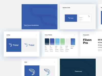 Branding for an early stage venture capital firm wave sydney styleguide design branding