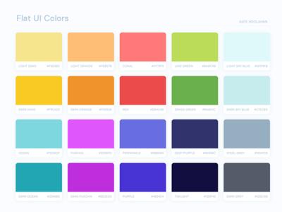 Flat UI Colors 2: Australia