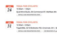 Yoga Calendar Dates