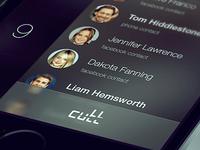 cutt - iOS app concept