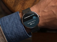 Tournament app - Android wear notification