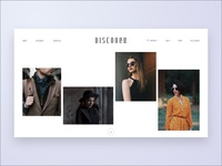 Discover Shoppe - Home page