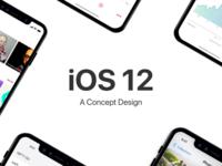 iOS 12 - concept design - cover
