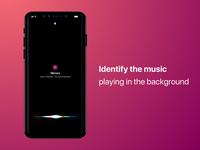 Music identification on iOS Lockscreen