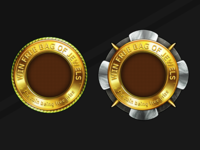Two Gold Coins. Game reward for users