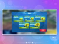 "UI/UX ""Shop"" a mobile game screen"