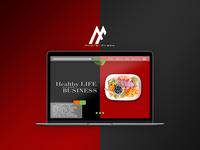 Healthy Life Web Design - 2018
