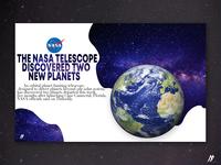 NASA News Concept - 2018