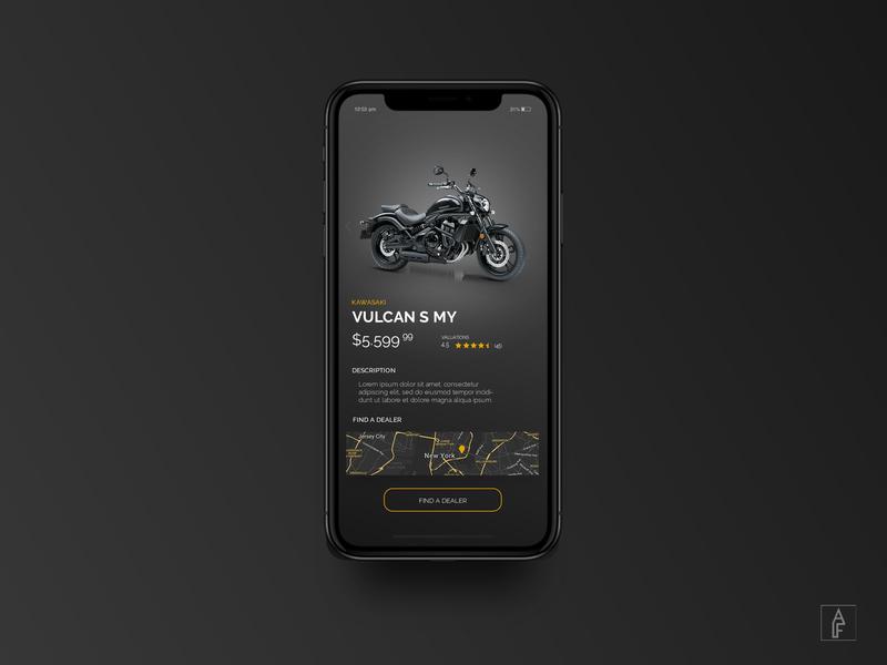 KAWASAKI MOBILE DESIGN - 2019 mobile app typography website creator branding ux ui webdesign motorcycle kawasaki website concept website banner illustration website web logo flat minimal design modern