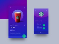 STARBUCKS MOBILE APP DESIGN - 2019