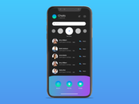 MESSENGER MOBILE DESIGN - 2019