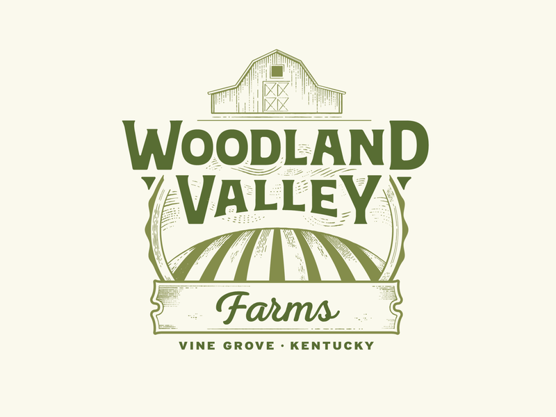 Woodland Valley Farms Logo