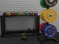 Local gym is going to run their own line of equipment.