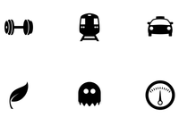 New set of my icons made it to the Noun Project