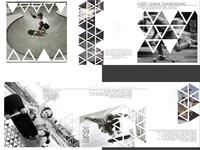 Brochure for skateboard event