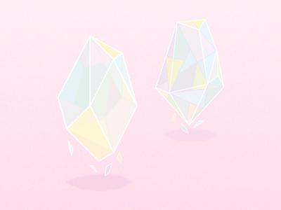 Diamond pastels