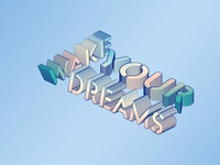 Playing around with Isometric 3D type